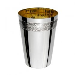 Italian Sterling Silver Kiddush Cup