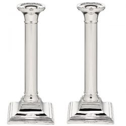 English Sterling Silver Candlesticks